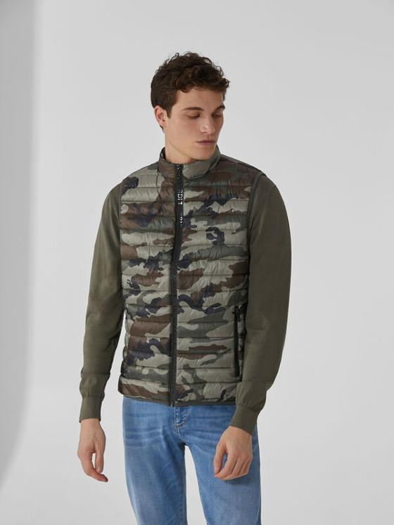 Gilet camouflage Trussardi Jeans