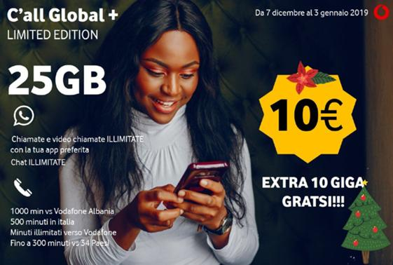 Offerta Vodafone Call Global Limited Edition!