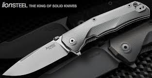 Lionsteel TRE - Coltello chiudibile in Titanio